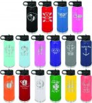 32 oz. Coral Polar Camel Water Bottle Promotional Give Aways